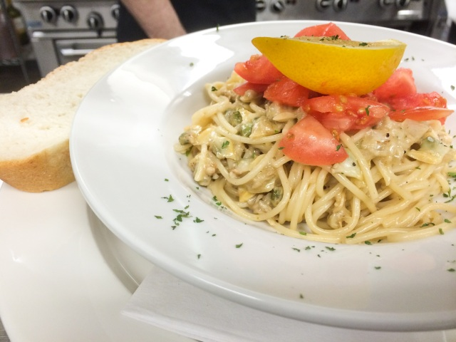 Clam Spaghettini